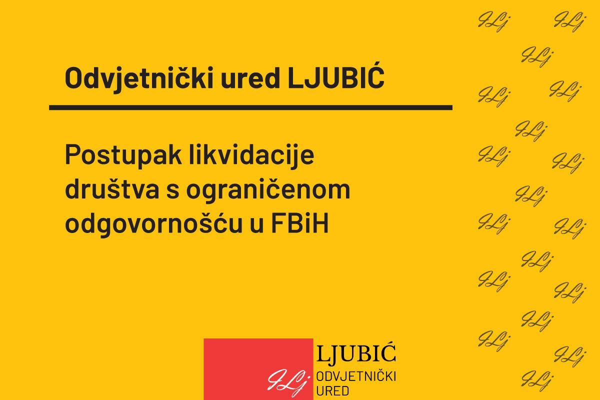 Likvidacija firme (poduzeća) u FBiH